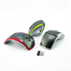 2.4G Wireless Foldable Optical Mouse