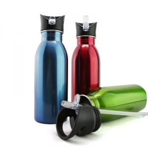 BPA Free Stainless Steel Sport Bottle 600ML