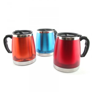 450ML Stainless Steel Office Mug