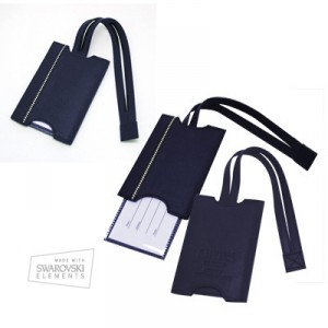 Daniel's Edition Luggage Tag – Navy Blue