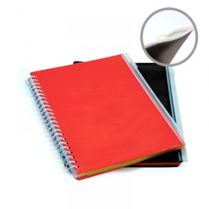 Ventol A5 Notebook With PVC Zip Pouch