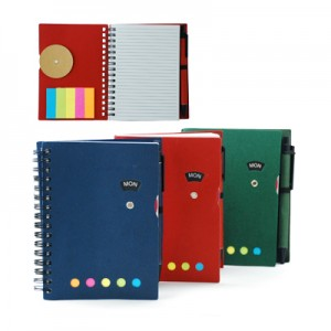 Notebook With Memo Pad And Pen