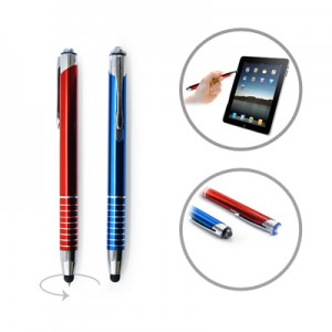 Fresno Ball Pen With Stylus And Torch Light