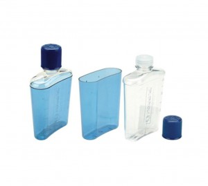 Flask_Blue with Blue Cap