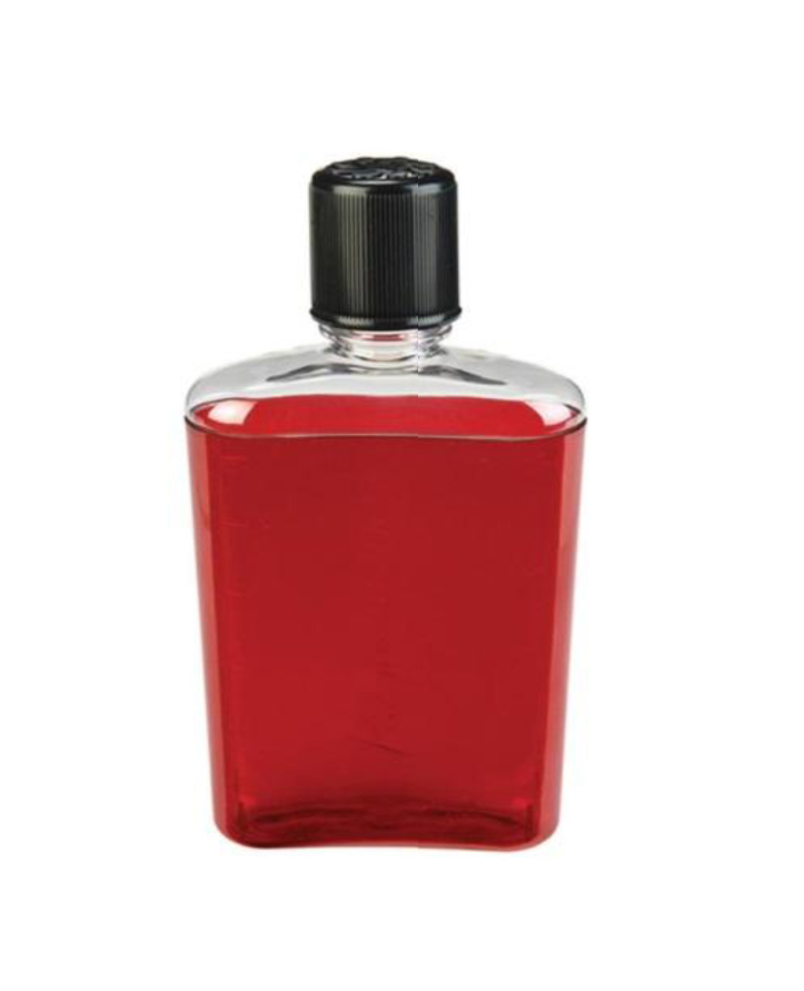 Flask Red With Black Cap Corporate Gifts