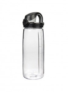 OTF Clear w-Black Cap
