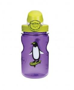 Pruple 12oz w_Iguana OTF Cap and Penguin