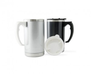 H2322 Chad Double Wall Stainless Steel Mug with Lid