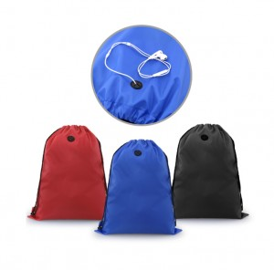 TMB1022 Gooddom Drawstring Bag With Ear Pieces Eyelet