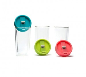 HDT1004 Double Wall Glass Tumbler