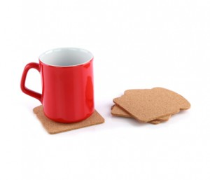 YOS1073  Toast Bread Coaster
