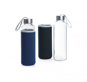 HDB1021 Pietro Glass Bottle with Neoprene Pouch
