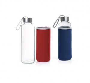 HDB1022 Ekaitz Glass Bottle with Neoprene Pouch