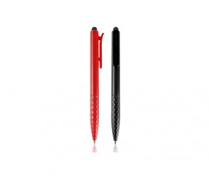 FPP1029 Memoria Geometric Ball Pen With Stylus