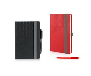 FSS1012 Geometric Notebook and Pen Set A5